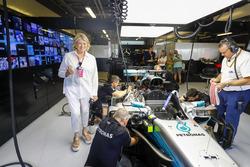 Марта Старт, Mercedes AMG F1 W08 Льюіса Хемілтон