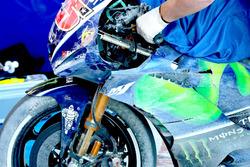 دراجة مافيريك فينياليس، ياماها فاكتوري ريسينغ بعد الحادث