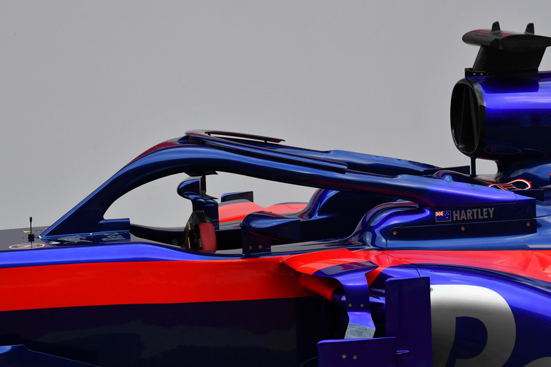 Система Halo на Scuderia Toro Rosso STR13