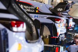 Car of Thierry Neuville, Nicolas Gilsoul, Hyundai i20 WRC, Hyundai Motorsport