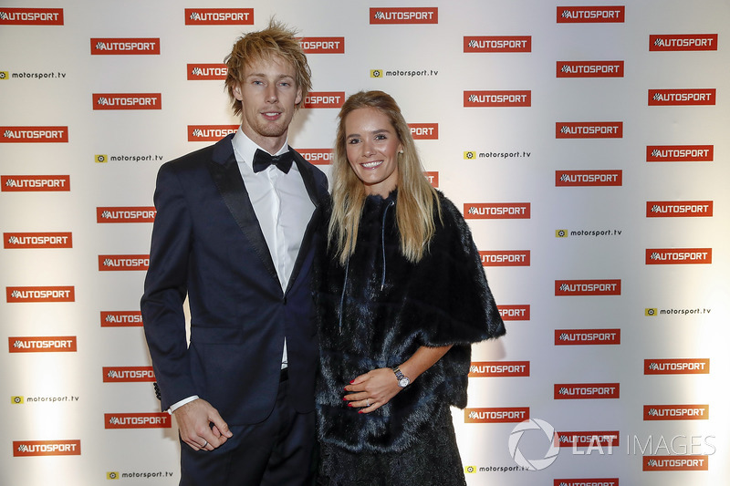 Brendon Hartley, Toro Rosso, and his partner
