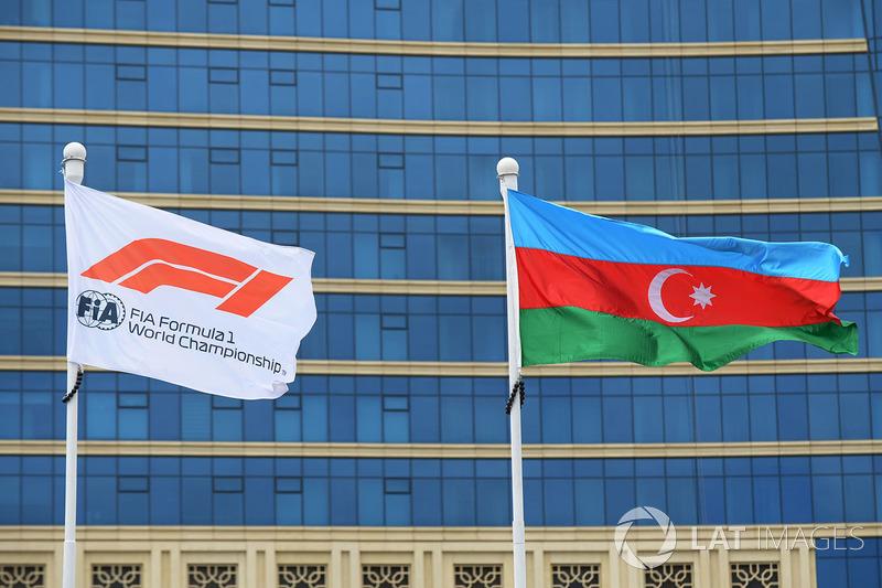Bendera F1 dan Azerbaijan