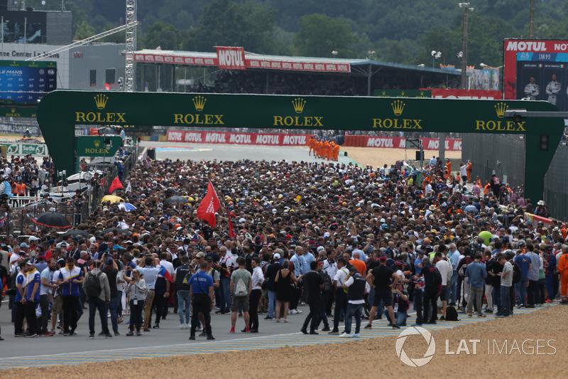 Griglia Le Mans 2018