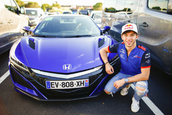 Pierre Gasly, Toro Rosso with a Honda NSX