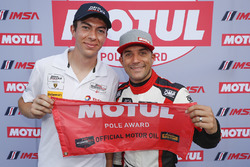 Motul Pole Award winner #48 Paul Miller Racing Lamborghini Huracan GT3, GTD: Madison Snow, Bryan Sellers