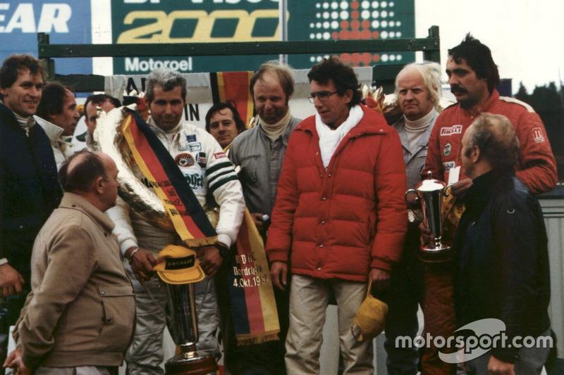 1981: Helmut Döring, Dieter Gartmann, Fritz Müller (Ford Capri)