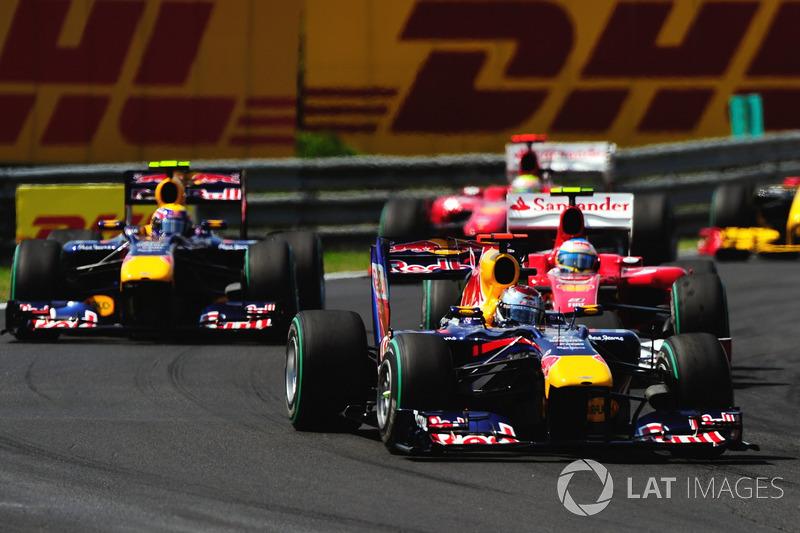 2014-2015: Sebastian Vettel van Red Bull Racing naar Ferrari