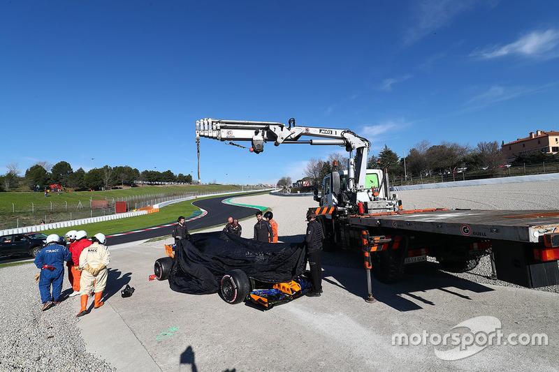 McLaren MCL33 of Fernando Alonso