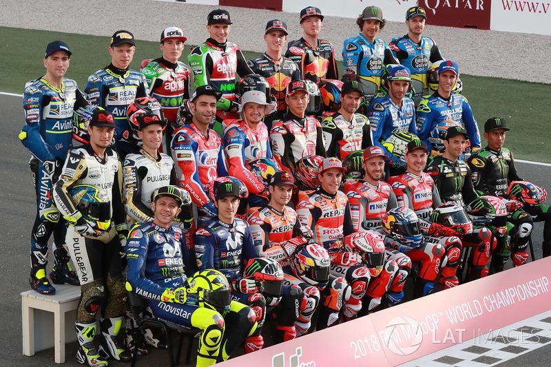 Гонщики MotoGP сезону 2018 року