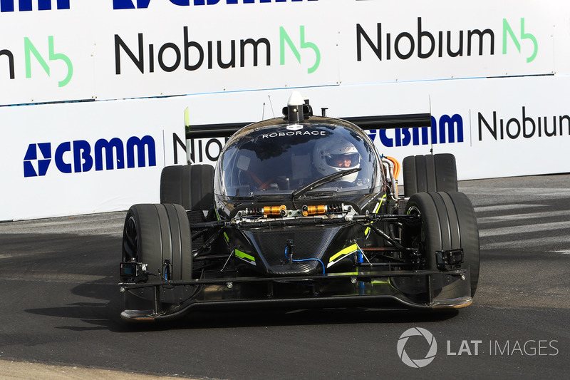 Roborace Car on track