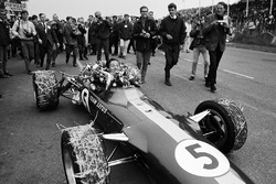 Il vincitore della gara Jim Clark, Team Lotus 49
