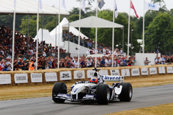 Karun Chandhok in the Williams FW26 BMW