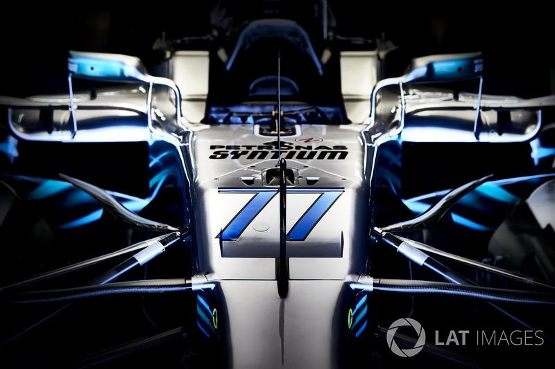 El coche de Valtteri Bottas, Mercedes AMG F1 W09