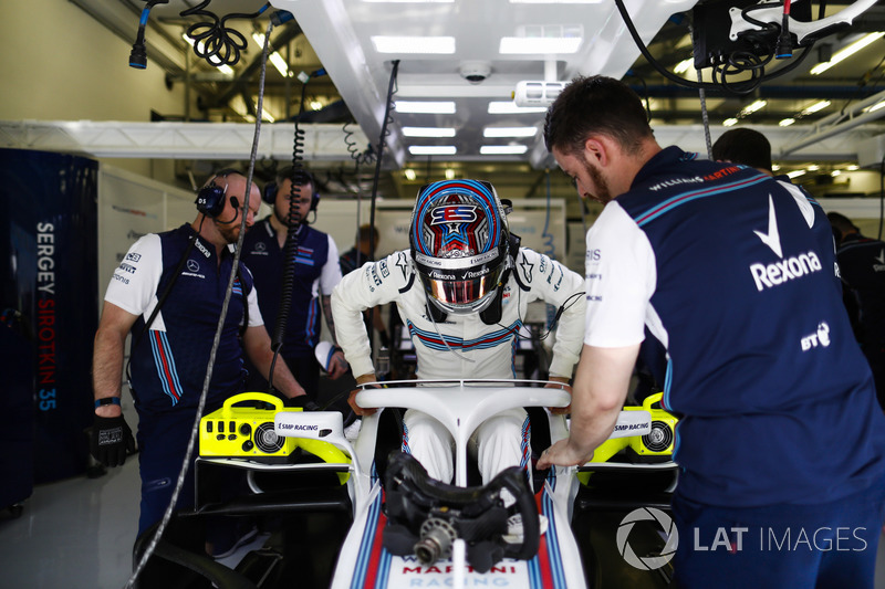 GP Bahrain - Sergey Sirotkin