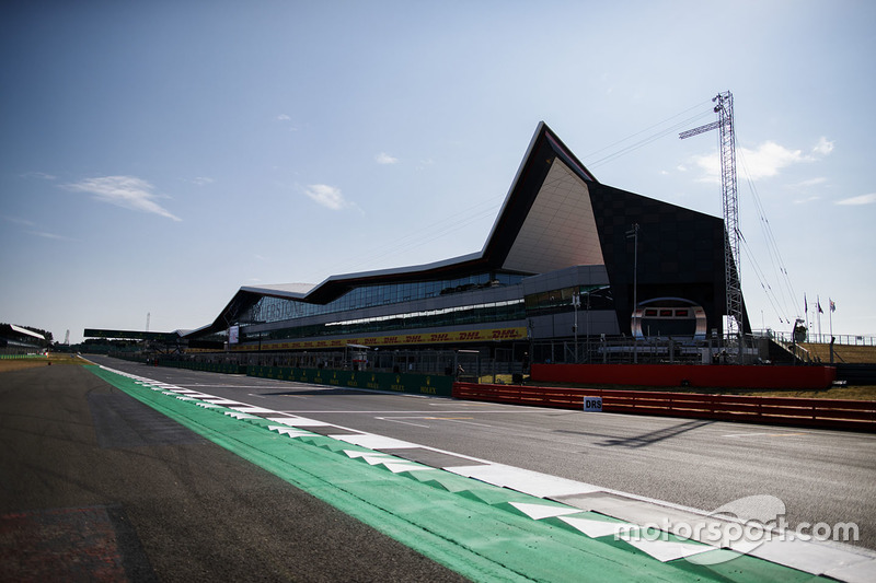 Le bâtiment Silverstone Wing
