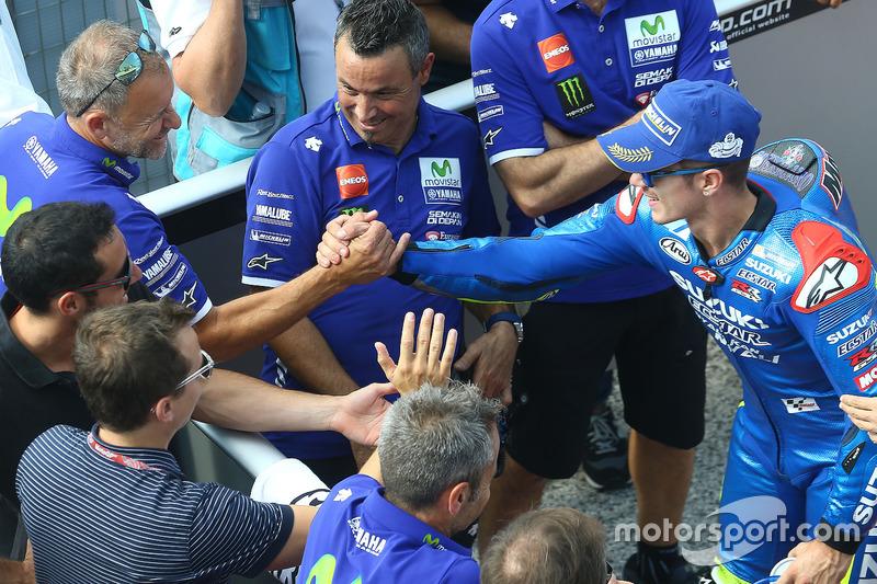 Wilco Zeelenberg, Yamaha Factory Racing Team Manager, Maverick Viñales, Team Suzuki Ecstar MotoGP