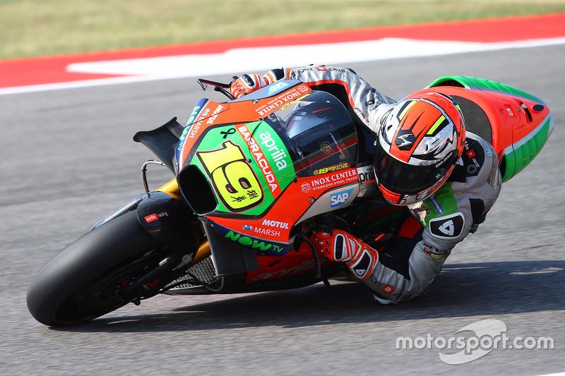 10. Alvaro Bautista, Aprilia Gresini Racing Team