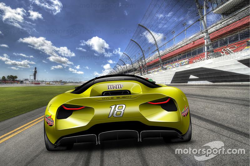 Designstudie: NASCAR 2030