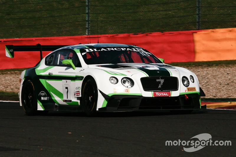 #7 Bentley Team M-Sport Bentley Continental GT3: Guy Smith, Vincent Abril, Steven Kane