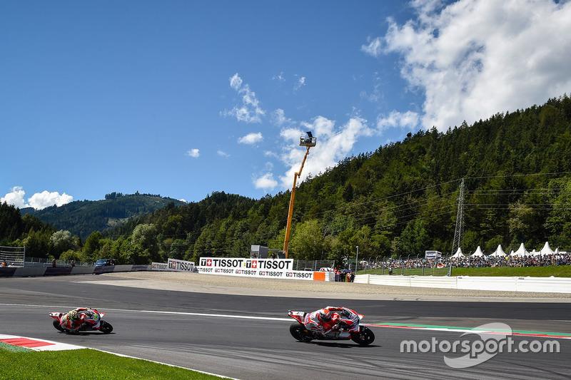 Andrea Dovizioso, Ducati Team and Andrea Iannone, Ducati Team
