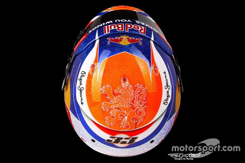 Diseño especial para el GP de Singapur 2016
