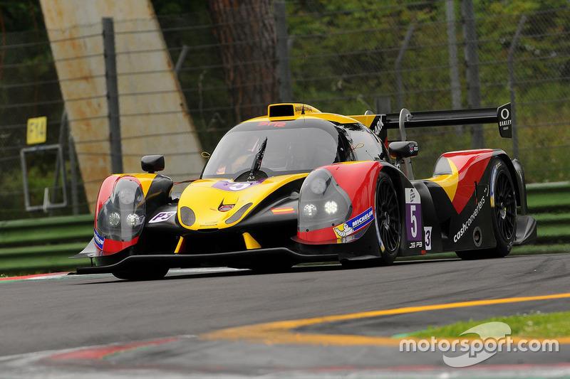 #5 By Speed Factory, Ligier JSP3 - Nissan: Jesus Fuster, Alvaro Fontes, Tom Jackson