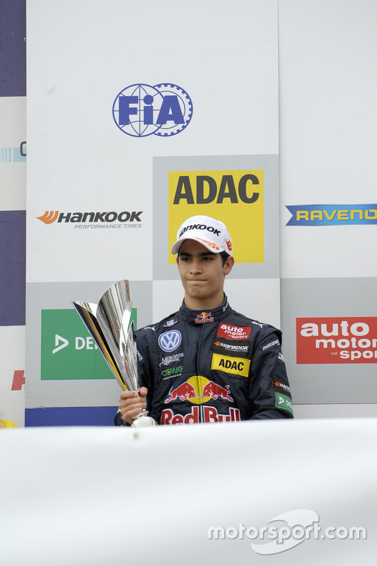 Podium : Sérgio Sette Câmara, Motopark Dallara F312 – Volkswagen