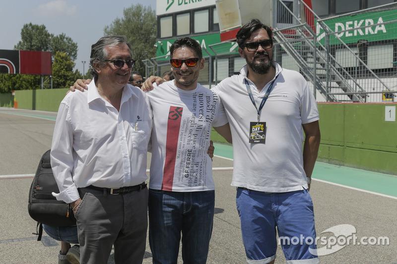 Giancarlo MInardi e Giancarlo Fisichella