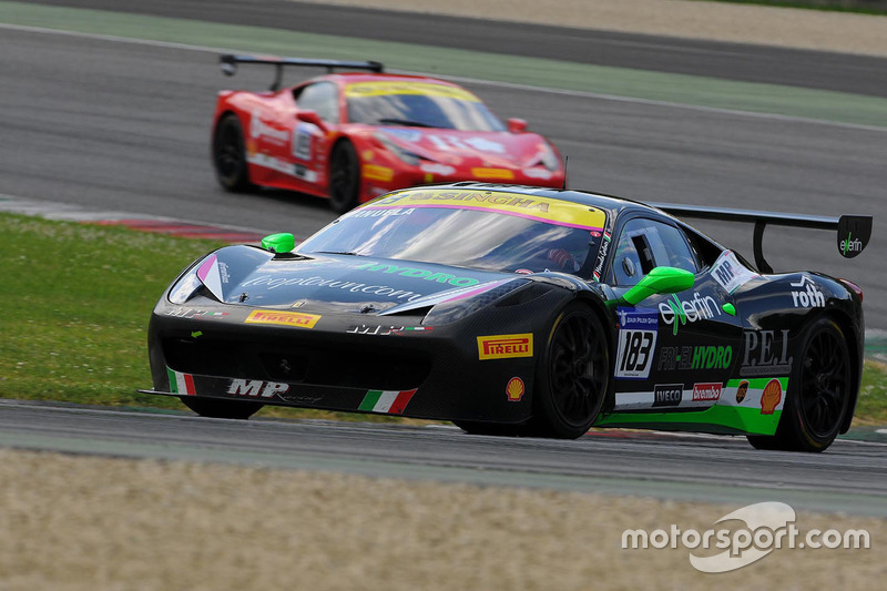 #183 Ineco – MP Racin,g Ferrari 458: Manuela Gostner