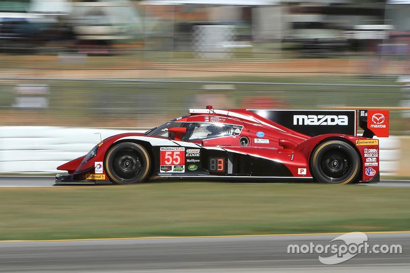 #55 Mazda Motorsports, Mazda Prototype: Jonathan Bomarito, Tristan Nunez, Spencer Pigot