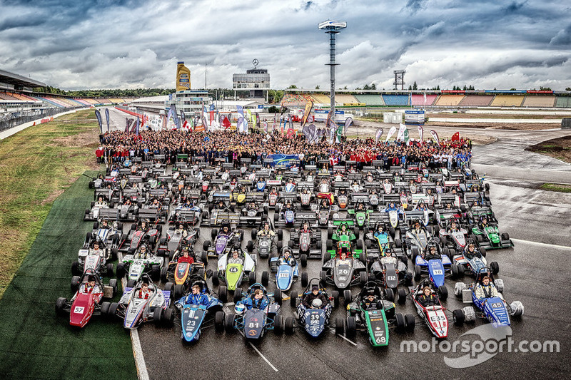 Deelnemers aan Formula Student Germany 2015