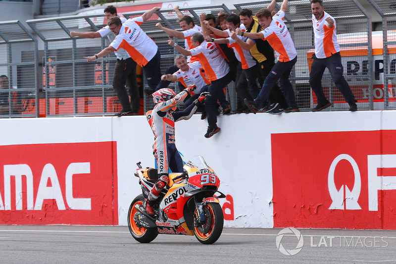 GP de Alemania: Marc Marquez, Repsol Honda Team