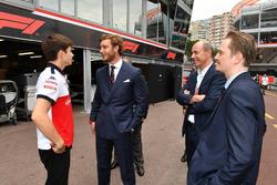 Charles Leclerc, Sauber et Pierre Casiraghi