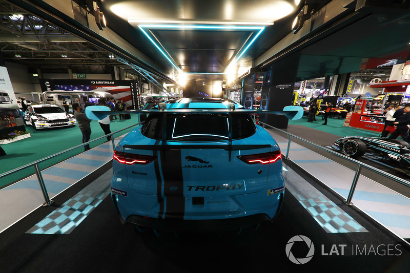 The Jaguar I-Pace eTrophy car