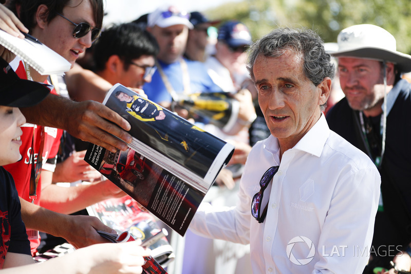 Alain Prost, asesor especial del equipo Renault Sport F1