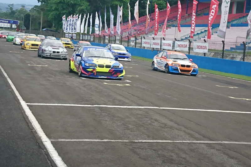 Starting grid STC Divisi 1