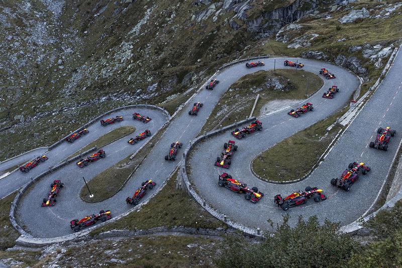 Sébastien Buemi en démonstration dans les Alpes