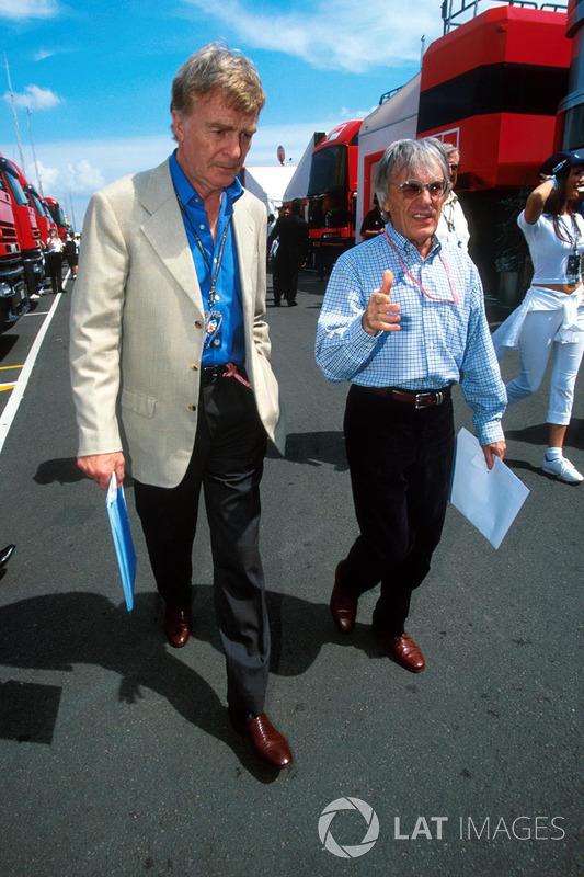 Max Mosley, Bernie Ecclestone