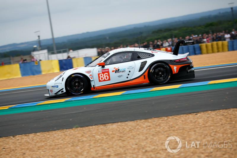 47. #86 Gulf Racing Porsche 911 RSR
