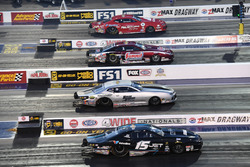 Pro Stock four wide action