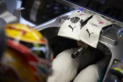 Рукавички Льюіса Хемілтона, Mercedes AMG F1