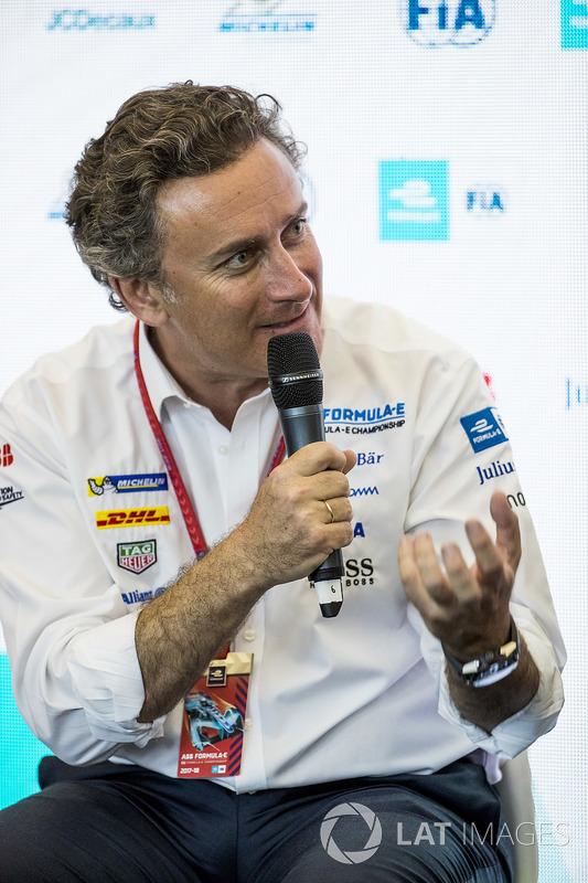 Alejandro Agag, CEO, Formula E, at the FIA Smart Cities conference