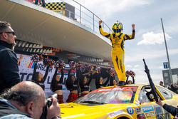 Race winner Alon Day