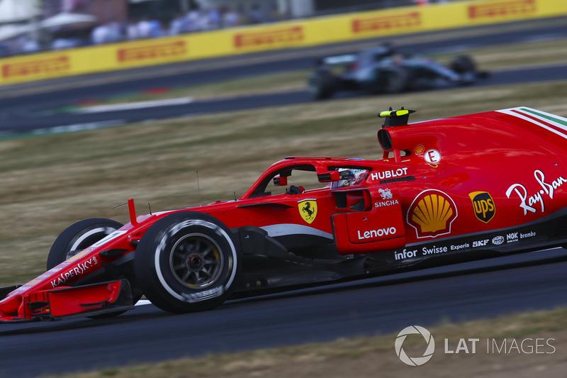 4 місце — Кімі Райкконен, Ferrari