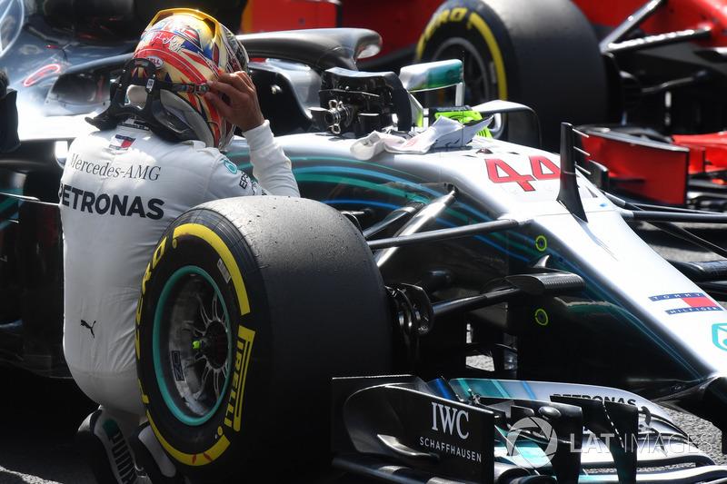 Na Mercedes, Hamilton já somou 44 vitórias, das 65 que possui em toda carreira.