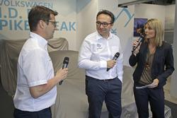 Francois-Xavier Demaison, Sven Smeets, Capo di Volkswagen Motorsport, Maren Braun