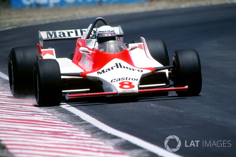 GP de Argentina 1980 - Debut de Alain Prost en Fórmula 1 con McLaren, un mes antes de cumplir 25 años