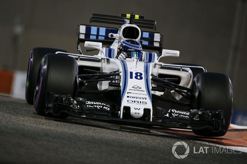 18. Lance Stroll, Williams FW40