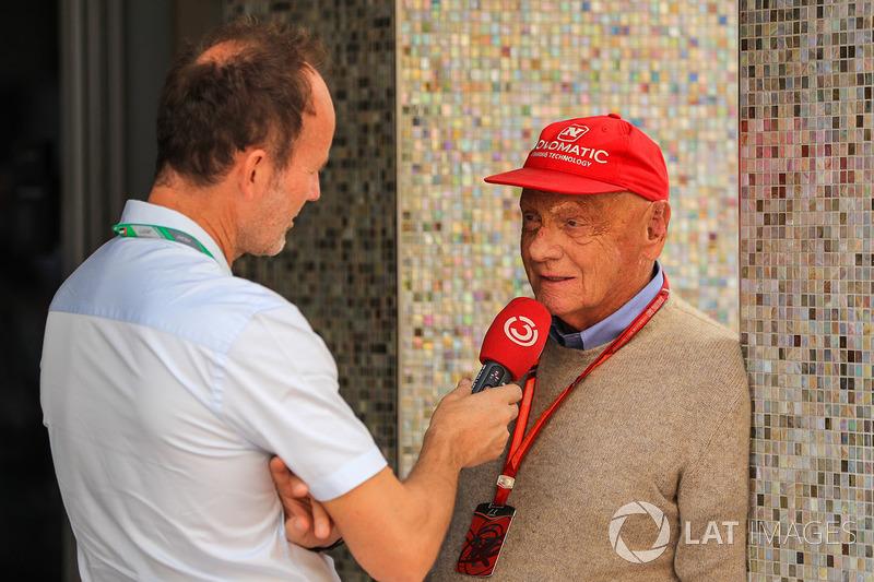 Niki Lauda, Mercedes AMG F1
