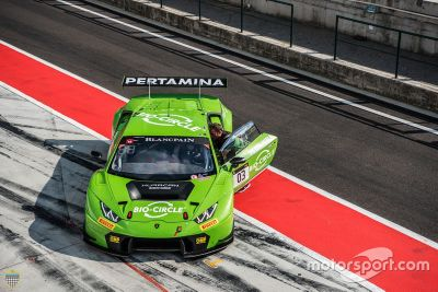 Tom Dillmann sulla Lamborghini Huracan GT3